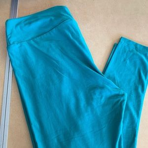 BNWT Lularoe Teal Leggings